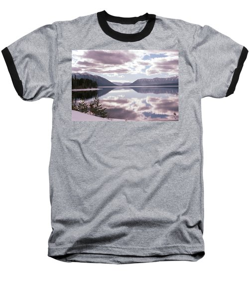 Glacier National Park 6 Baseball T-Shirt