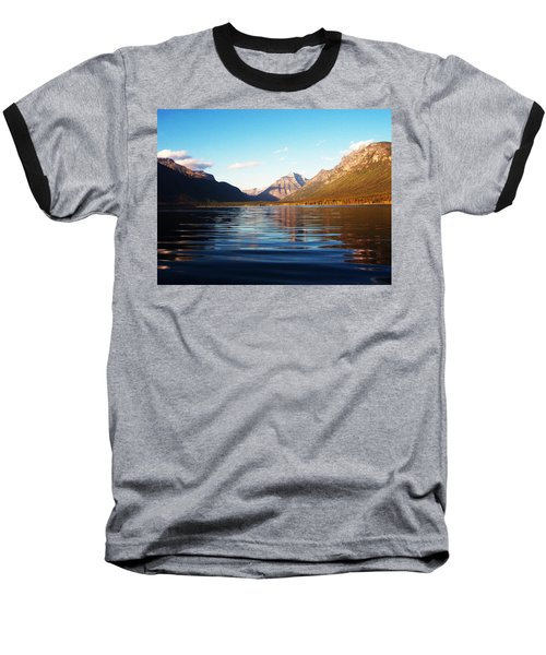Glacier National Park 7 Baseball T-Shirt