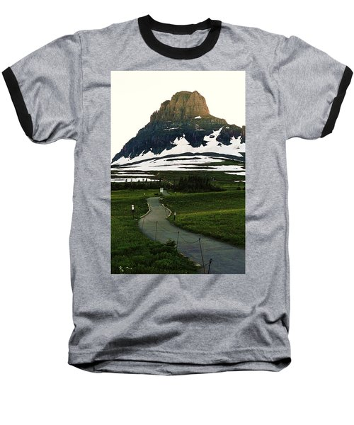 Glacier National Park 8 Baseball T-Shirt