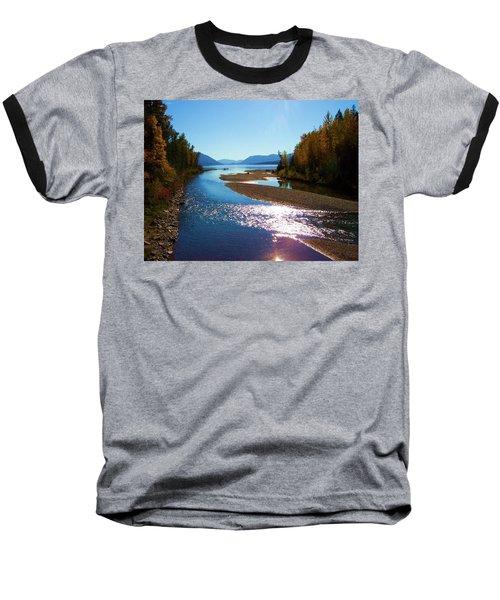 Glacier Park 9 Baseball T-Shirt