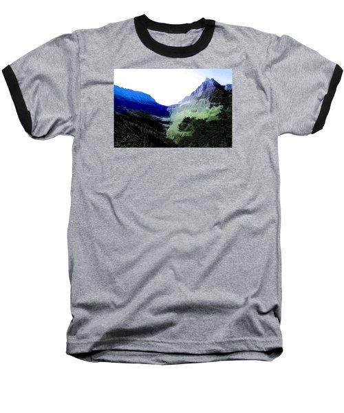 Glacier Park Simplified Baseball T-Shirt