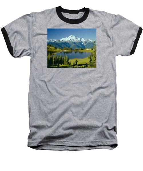 1m4422-glacier Peak, Wa  Baseball T-Shirt