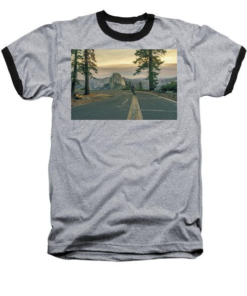 Glacier Point Adventure Baseball T-Shirt