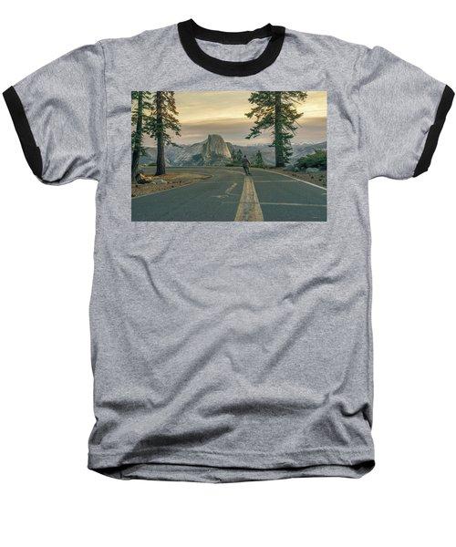 Glacier Point Adventure Baseball T-Shirt