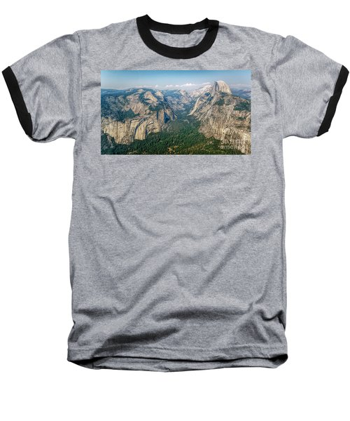Glacier Point Yosemite Np Baseball T-Shirt
