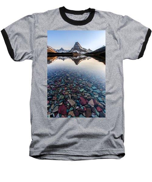 Glacier Skittles Baseball T-Shirt by Aaron Aldrich