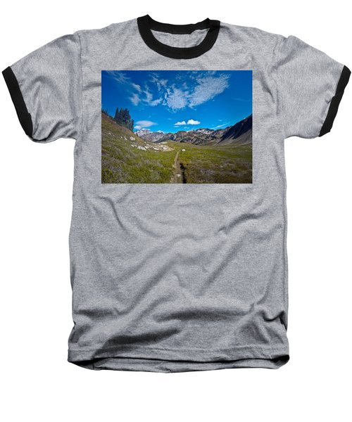 Glacier Wilderness Baseball T-Shirt