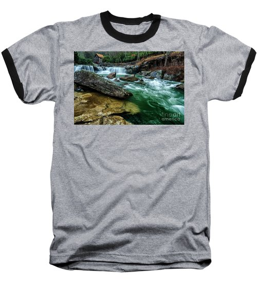 Glade Creek And Grist Mill Baseball T-Shirt