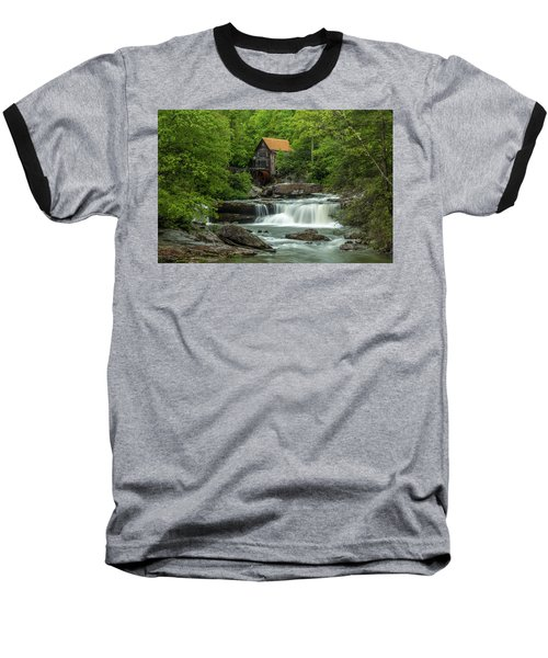 Glade Creek Grist Mill In May Baseball T-Shirt