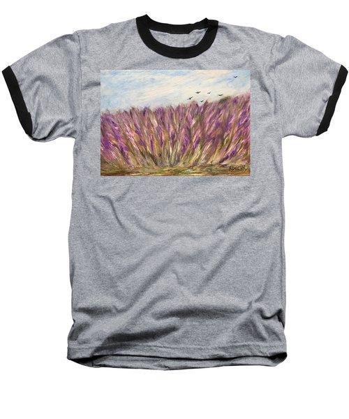 Gladiolus Field Baseball T-Shirt