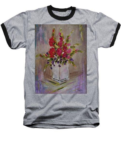 Gladiolus On Point Baseball T-Shirt