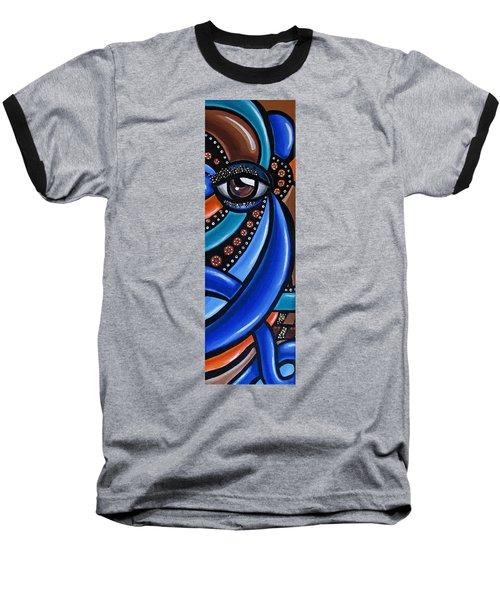 Glamorous - Abstract Painting - Eye Art - Ai P. Nilson Baseball T-Shirt