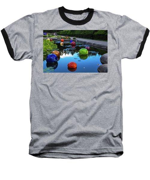 Glass At Biltmore Baseball T-Shirt