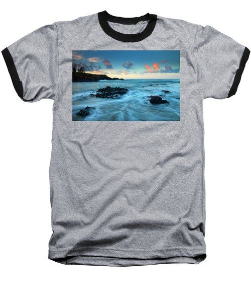 Glass Beach Dawn Baseball T-Shirt
