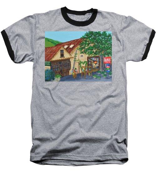 Glass Blower Shop Harmony California Baseball T-Shirt