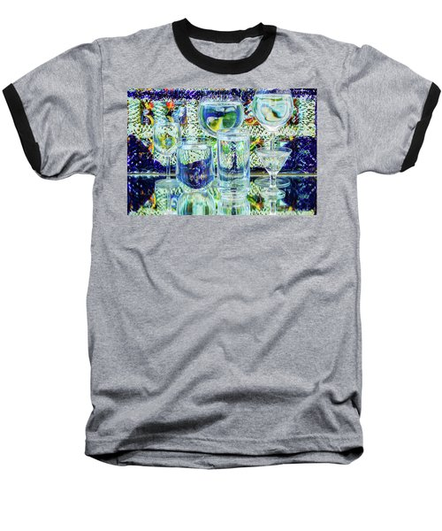 Glass Blues Baseball T-Shirt