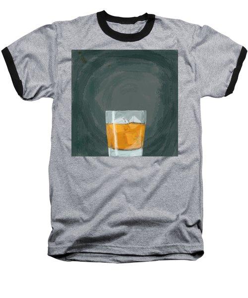 Glass, Ice,  Baseball T-Shirt by Keshava Shukla
