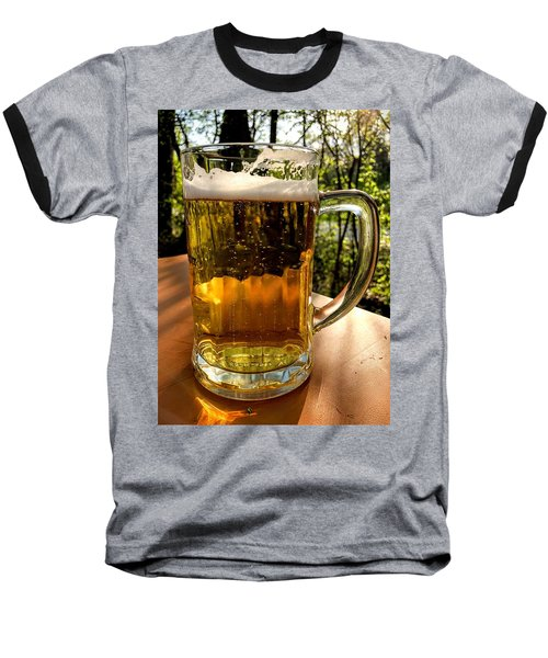 Glass Of Beer Baseball T-Shirt