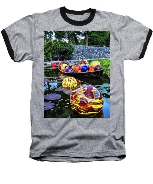 Glass On Display Baseball T-Shirt