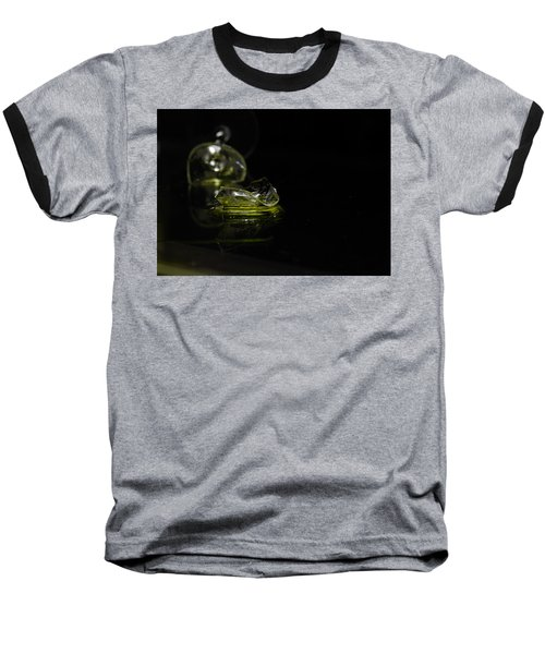 Baseball T-Shirt featuring the photograph Glass Shard by Susan Capuano