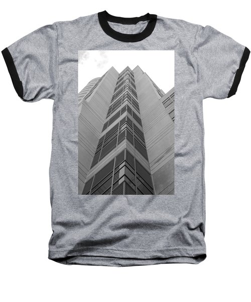 Baseball T-Shirt featuring the photograph Glass Tower by Rob Hans
