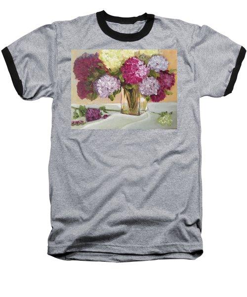 Glass Vase Baseball T-Shirt