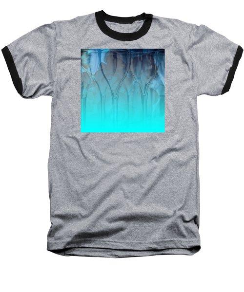Glasses Floating Baseball T-Shirt by Allison Ashton