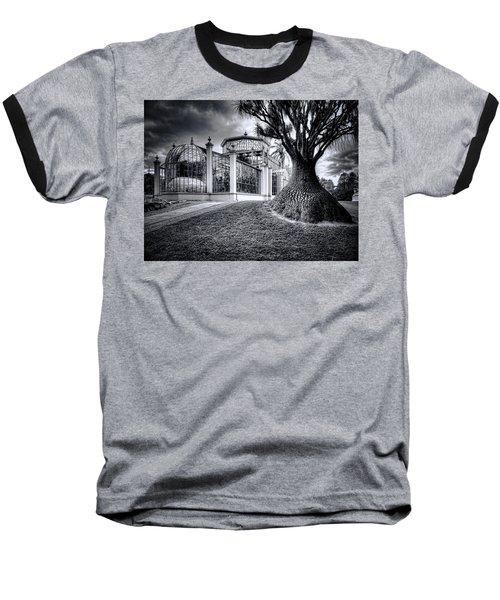 Glasshouse And Tree Baseball T-Shirt