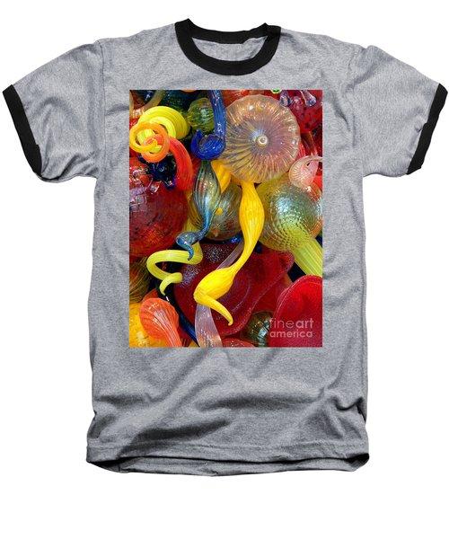 Glassworks Of The Milwaukee Art Museum Baseball T-Shirt