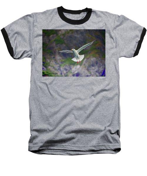 Glaucous-winged Gull Baseball T-Shirt