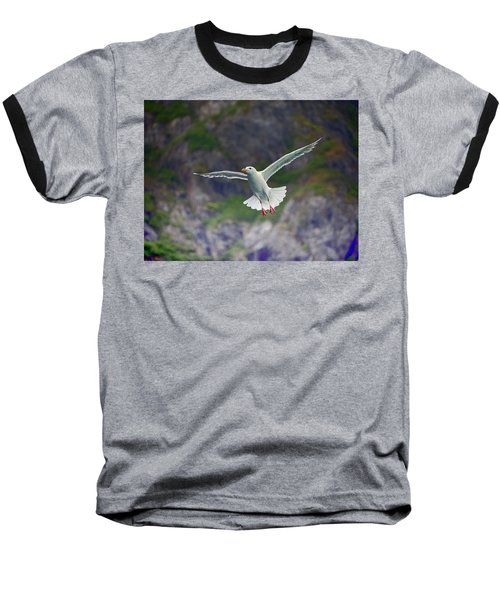 Glaucous-winged Gull Baseball T-Shirt