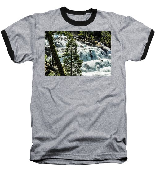 Glen Alpine Falls 1 Baseball T-Shirt