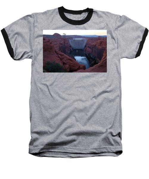Glenn Canyon Dam Baseball T-Shirt