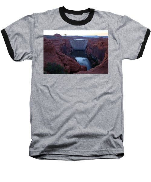 Glenn Canyon Dam Baseball T-Shirt