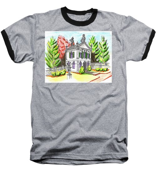 Glen Magna Farms- Derby House 2 Baseball T-Shirt