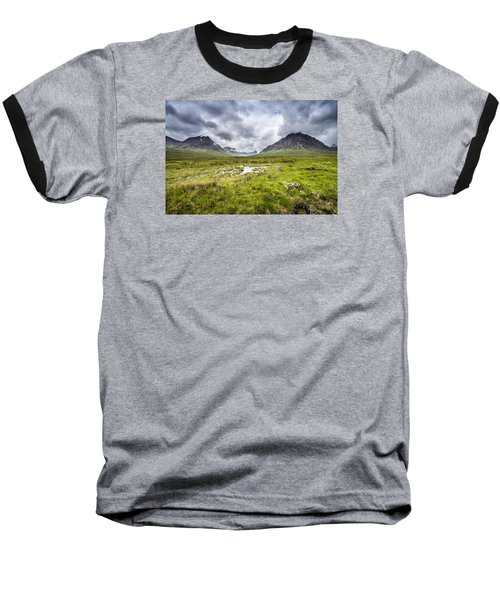 Baseball T-Shirt featuring the photograph Glencoe by Jeremy Lavender Photography