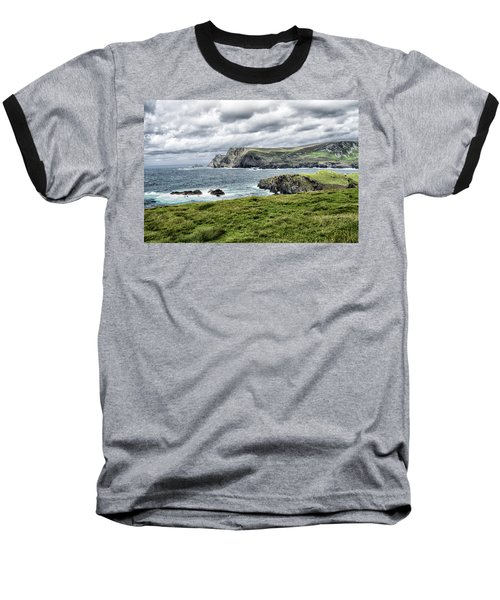 Baseball T-Shirt featuring the photograph Glencolmcille by Alan Toepfer