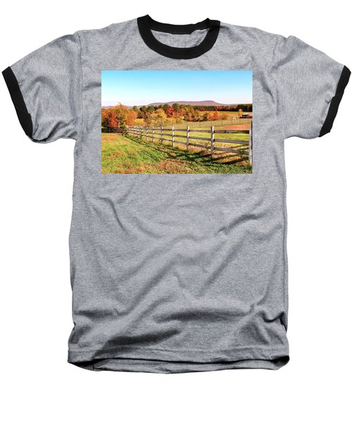 Glendale Road View In The Fall Baseball T-Shirt