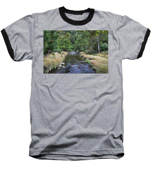 Baseball T-Shirt featuring the photograph Glendasan River. by Terence Davis