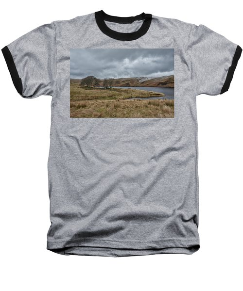 Baseball T-Shirt featuring the photograph Glendevon Reservoir In Scotland by Jeremy Lavender Photography