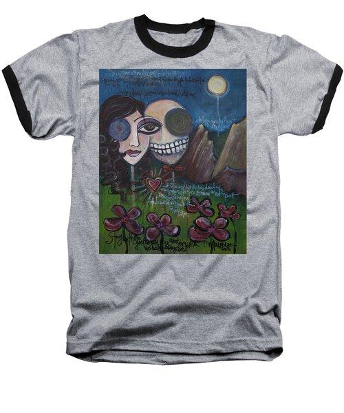 Glenn And Allison Baseball T-Shirt
