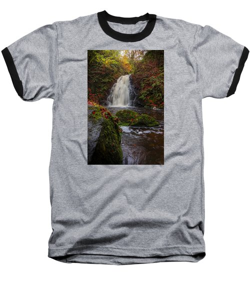 Gleno Falls Portrait View Baseball T-Shirt