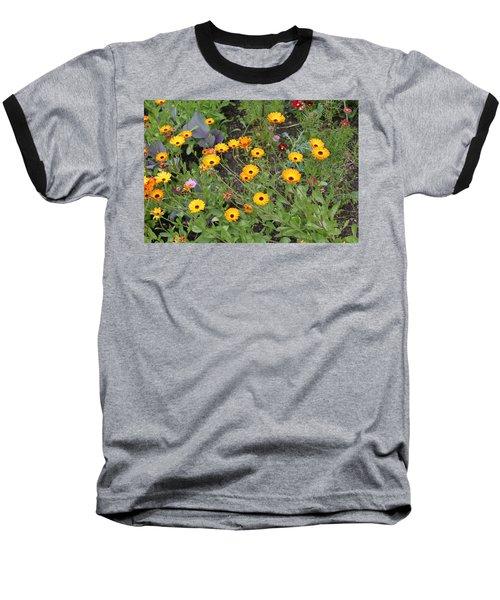 Glenveagh Castle Gardens 4279 Baseball T-Shirt
