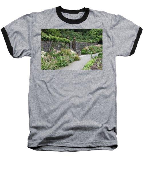 Glenveagh Castle Gardens 4288 Baseball T-Shirt