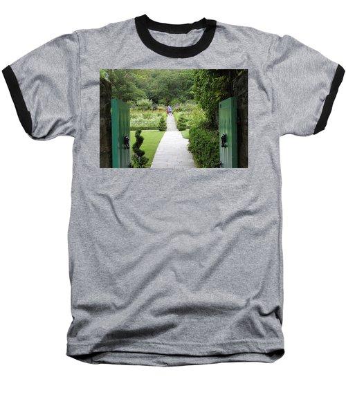 Glenveagh Castle Gardens 4272 Baseball T-Shirt