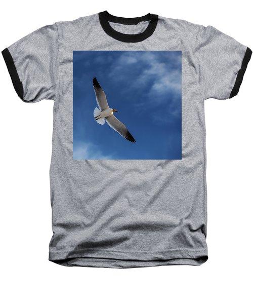 Glider Baseball T-Shirt by Don Spenner