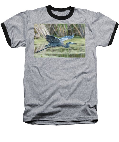 Gliding Over The Wetlands... Baseball T-Shirt