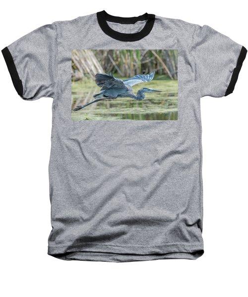 Gliding Over The Wetlands... Baseball T-Shirt