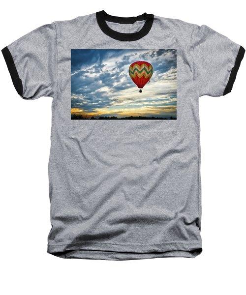 Gliding Through Sunset Baseball T-Shirt