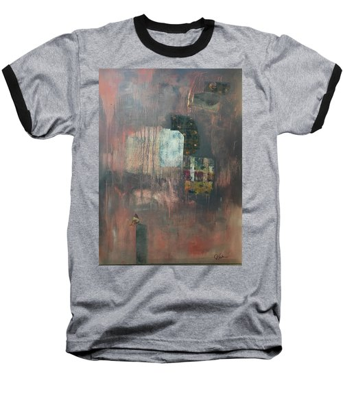 Glimpse Of Town Baseball T-Shirt